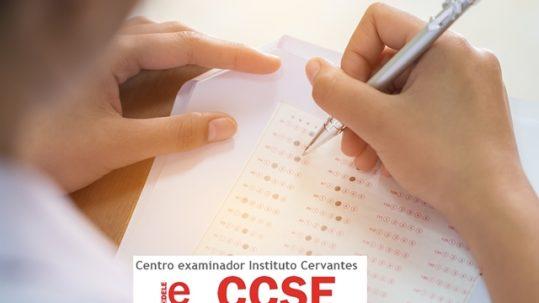 Exámenes DELE y CCSE